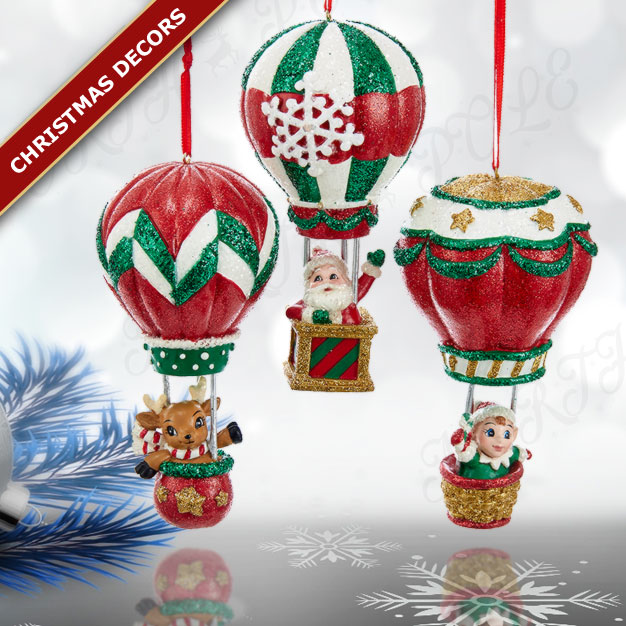 christmas balloons vintage kurt s adler